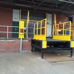 Bespoke Dockleveller designed to Accomodate Double Deck Trailers