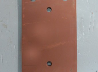 A051 Dock Bumper Back Plate