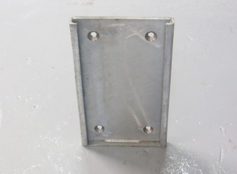 A052 Dock Bumper Back Plate