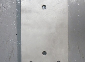 A053 Dock Bumper Back Plate