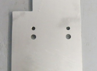 A060 Dock Bumper Back Plate