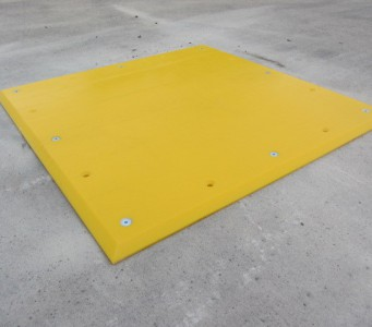 A084 Trailer Plate Loading Bay Accessory